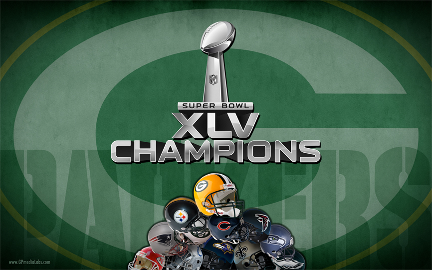 Green Bay Packers Wallpaper - Super Bowl Champions